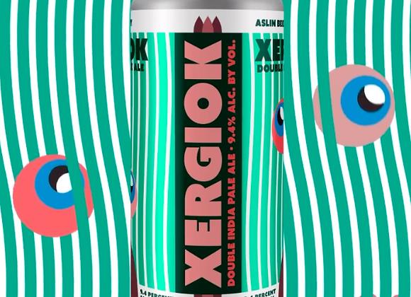 Aslin Xergiok (Double IPA - 4 pack x 16 oz.)