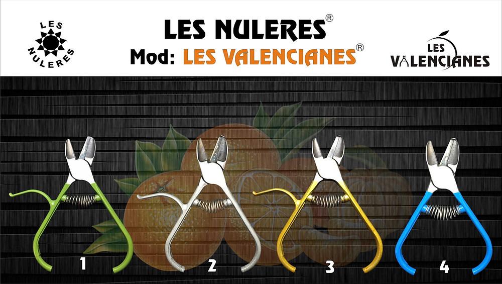 Tijeras para la recoleccion de cítricos Les Nuleres mod: Les Valencianes
