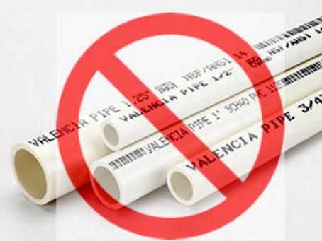 PVC Pipe For Dog Agility Equipment (Plumbers -vs- Furniture Grade)