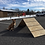 Thumbnail: Dog Agility mini A Frame | Bare Wood Version