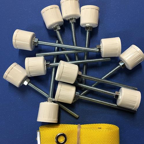 Weave Pole D.I.Y. Kit for 12 weave poles