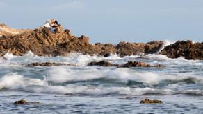 Hug Among the Waves