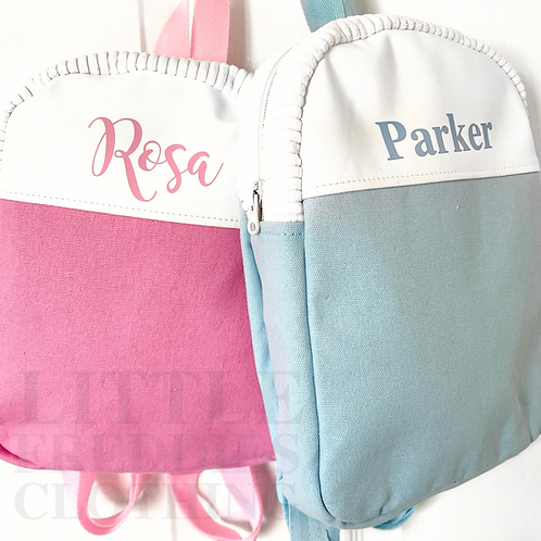 Personalised Canvas Backpacks