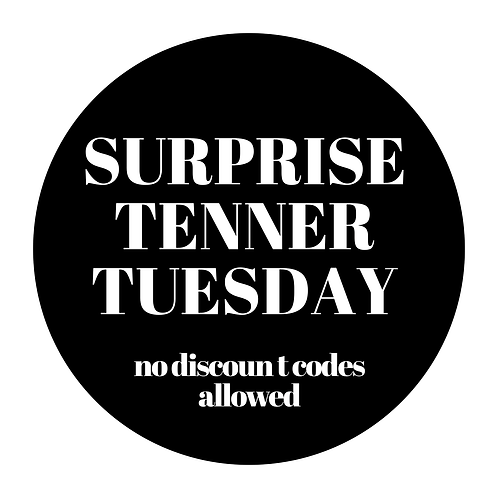 Surprise Tenner Tuesday