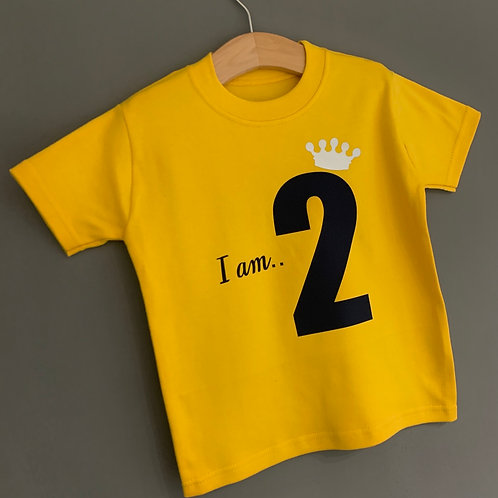 """I am.."" Birthday Tee"