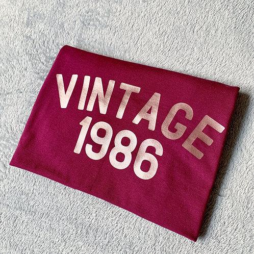 Adults Vintage Tee