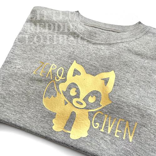 Zero Fox Given Children's Tee