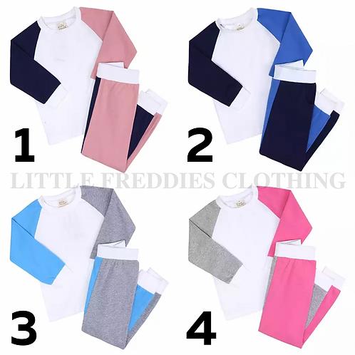 Colour Block Loungewear *PRE ORDER*