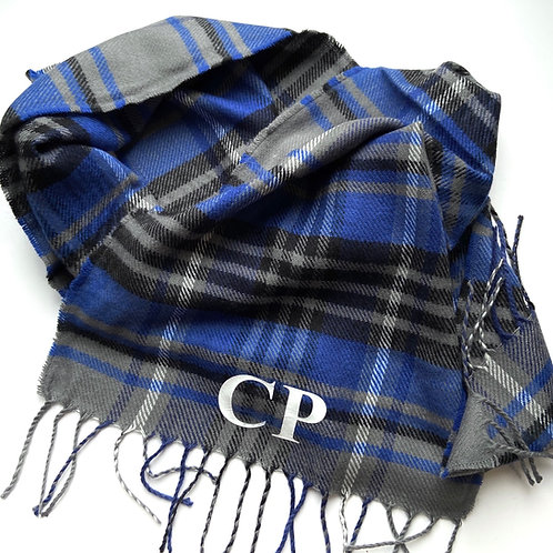 Personalised Initial Scarf