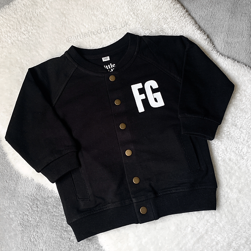 Cool Kids Club & Initial Bomber Jacket