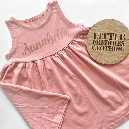 Children's Personalised Summer Dress