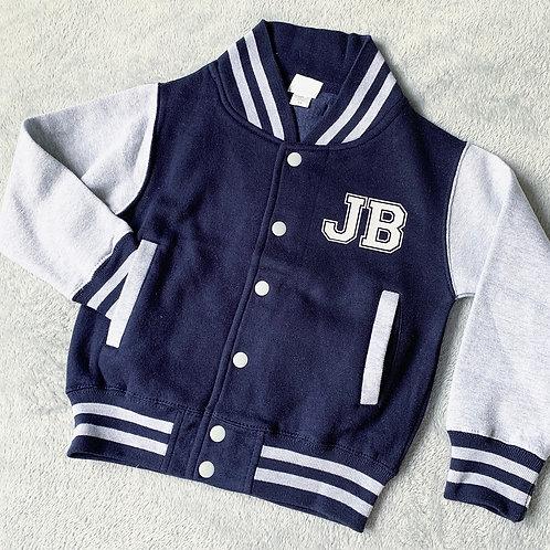 Children's Personalised Varsity Jackets