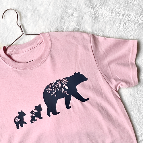 Mama And Cubs Adults Tee