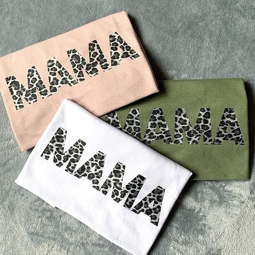 Leopard Mama Tee