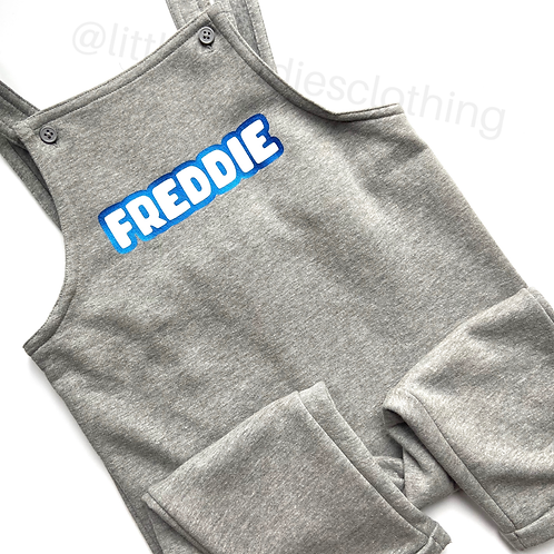 Two Tone Personalised Dungarees