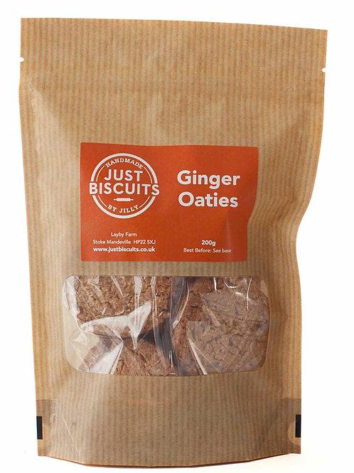 Stem Ginger Oaties