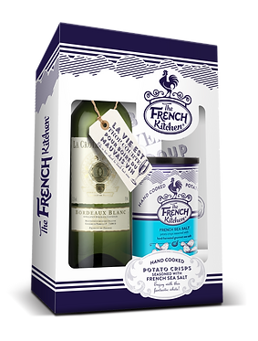 Sea Salt Crisps & White Wine Gift Pack