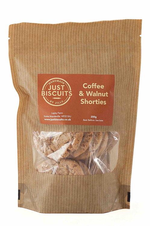 Coffee & Walnut Shorties