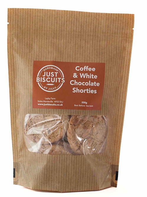 Coffee & White Chocolate Shorties