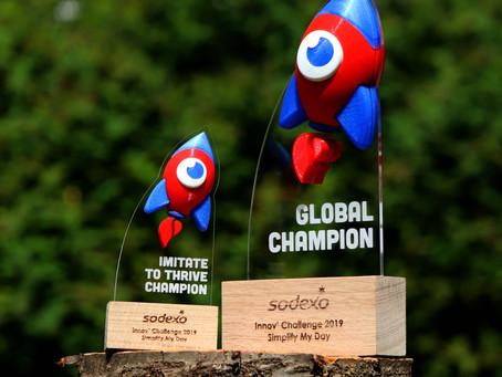 Sodexo Innov' Challenge : Une merveille de création pour le seul et unique vainqueur (+ process)