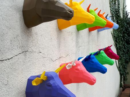 La Maison de La vache qui rit : Les trophées de chasse imprimés en 3D