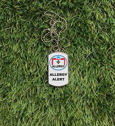 Allergy Alert Dog Tag