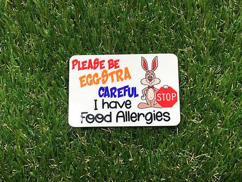 Easter - Eggstra Careful Badge