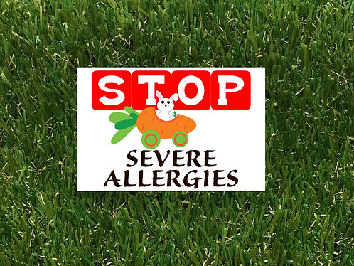Easter Severe Allergies Badge