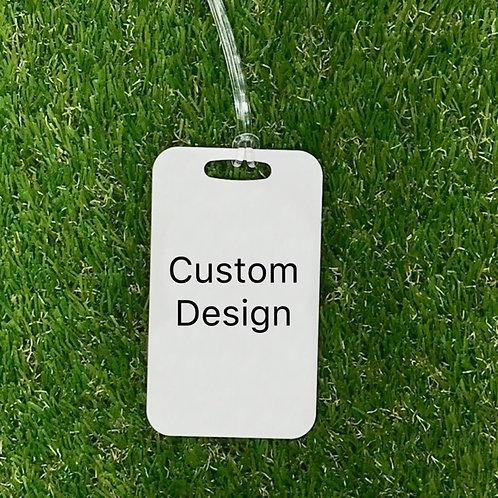 Custom design bag tag