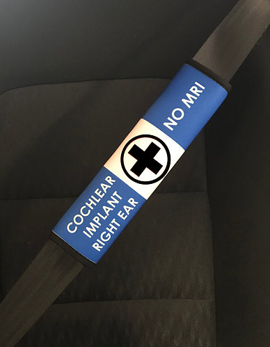 Ambulance Alert Seat Belt Cover