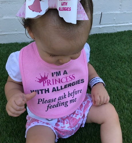 I'm a princess with allergies - Pink