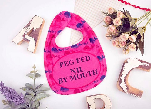 Peg Fed - No Food (Blue or Pink)