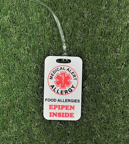 EpiPen Inside bag tag