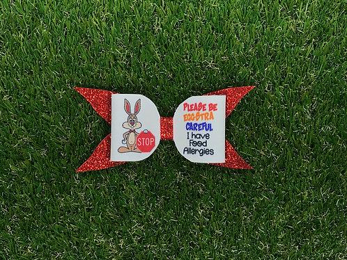 Easter - Eggstra Careful Bow