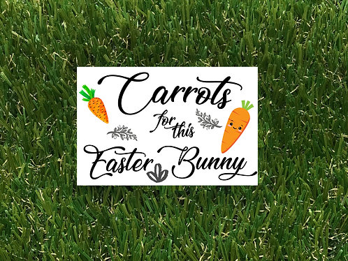 Carrots for this Bunny Badge