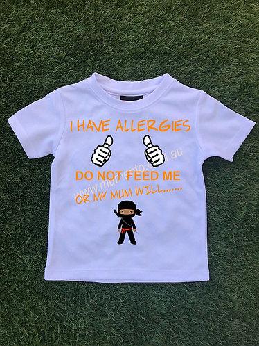 I have allergies Ninja