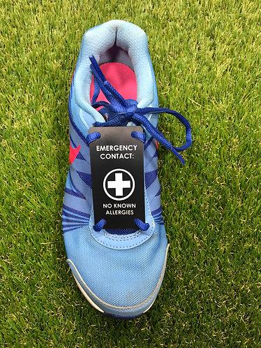 Emergency Shoe Tag - Large