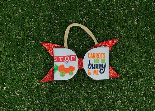 Carrots for me - Easter Bow