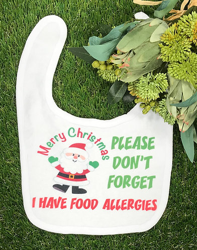 Christmas - Don't forget allergies