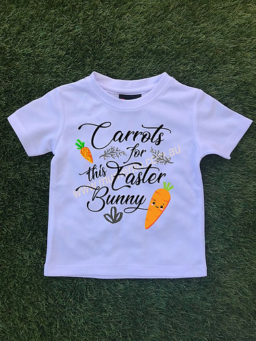 Carrots for this Easter bunny