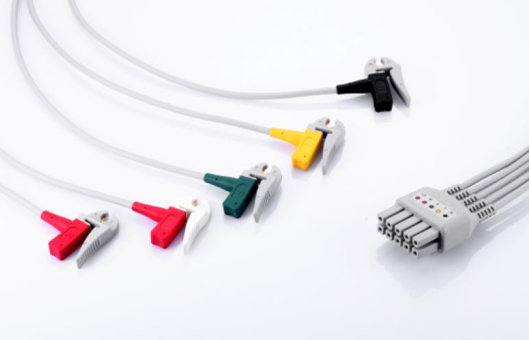 Mindray 12-Lead ECG limb wires, Clip,