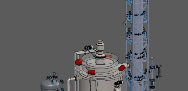Вариант исполнения комплекса УТД «Поток РК/ж»