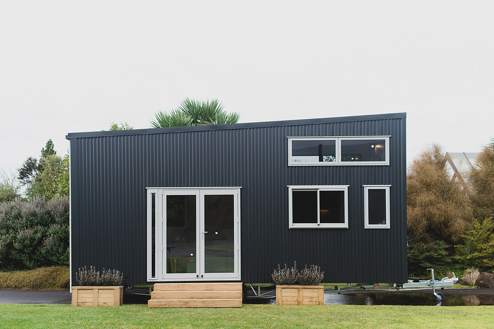 Exterior of the Buster tiny house