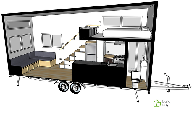 Littlejohn Tiny House 3D image