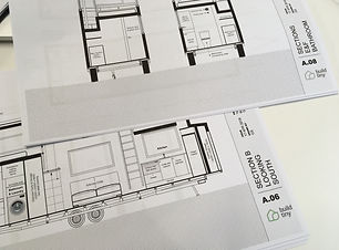 Custom tiny house plans
