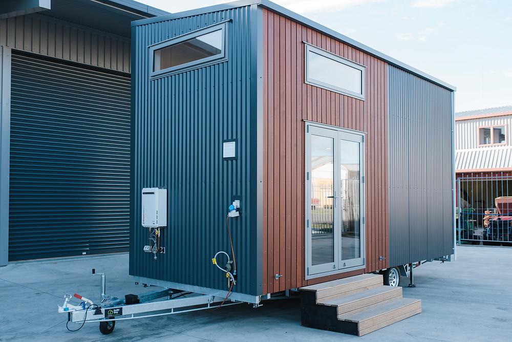 Larissa & Tylers 6m removable drawbar Tiny house
