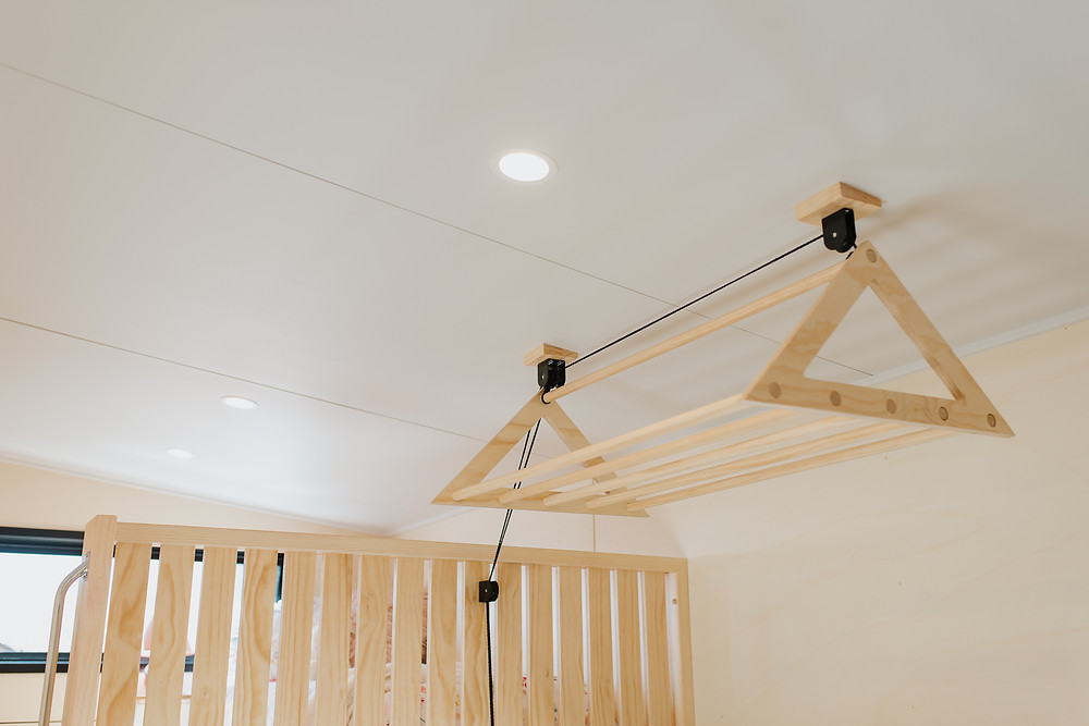 Clothes airer made by Variant spaces