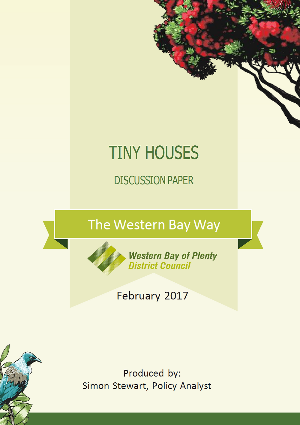 Western Bay of Plentry District Council Tiny House Discussion Paper