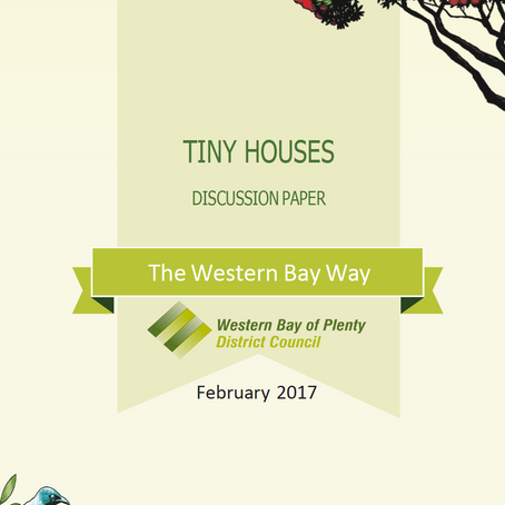 Western Bay of Plenty Council releases a (glowing) opinion on Tiny Houses