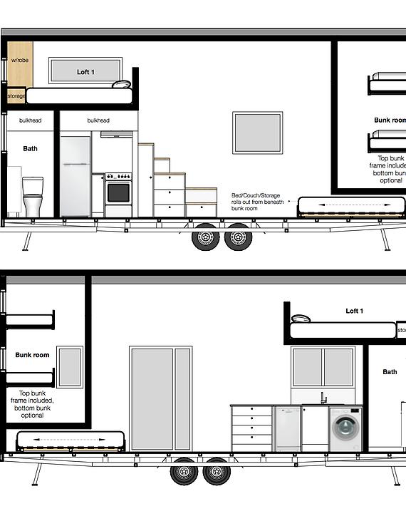 The Bunker Tiny House Build Tiny Katikati Nz